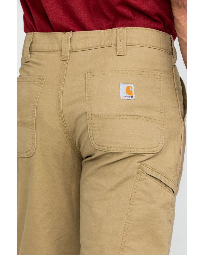 "Carhartt Men's Khaki Rugged Flex 13"" Rigby Work Shorts , Beige/khaki, hi-res"