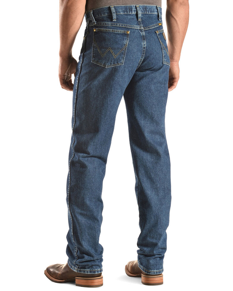George Strait by Wrangler Men's Cowboy Cut Western Jeans, Denim, hi-res