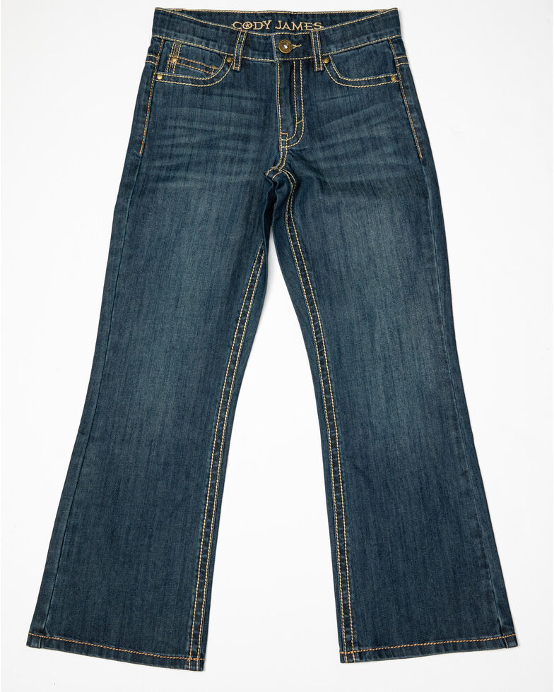 Cody James Boys' 8-20 Dark Rodeo Relaxed Bootcut Jeans - Big , , hi-res