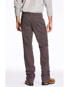 Ariat Men's Rebar M4 Washed Twill Dungaree Work Pants , Grey, hi-res