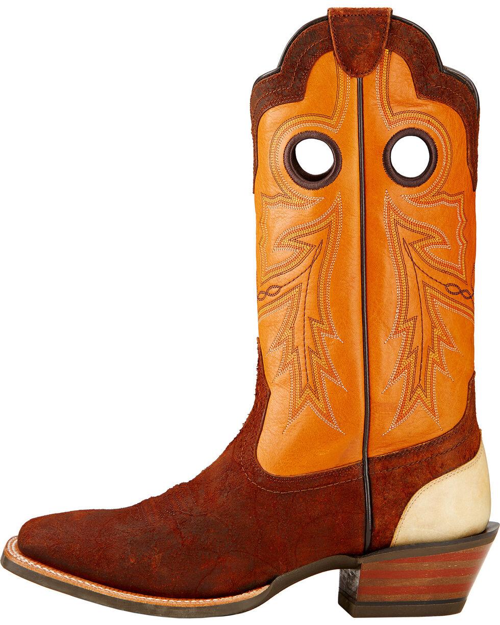 Ariat Men's Wildstock Western Boots, Brick, hi-res