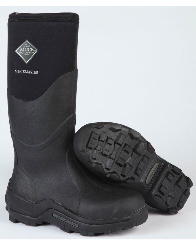 Muck Boots Muckmaster Hi Work Boots, Black, hi-res