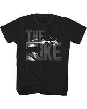 John Wayne Men's The Duke T-Shirt, Black, hi-res