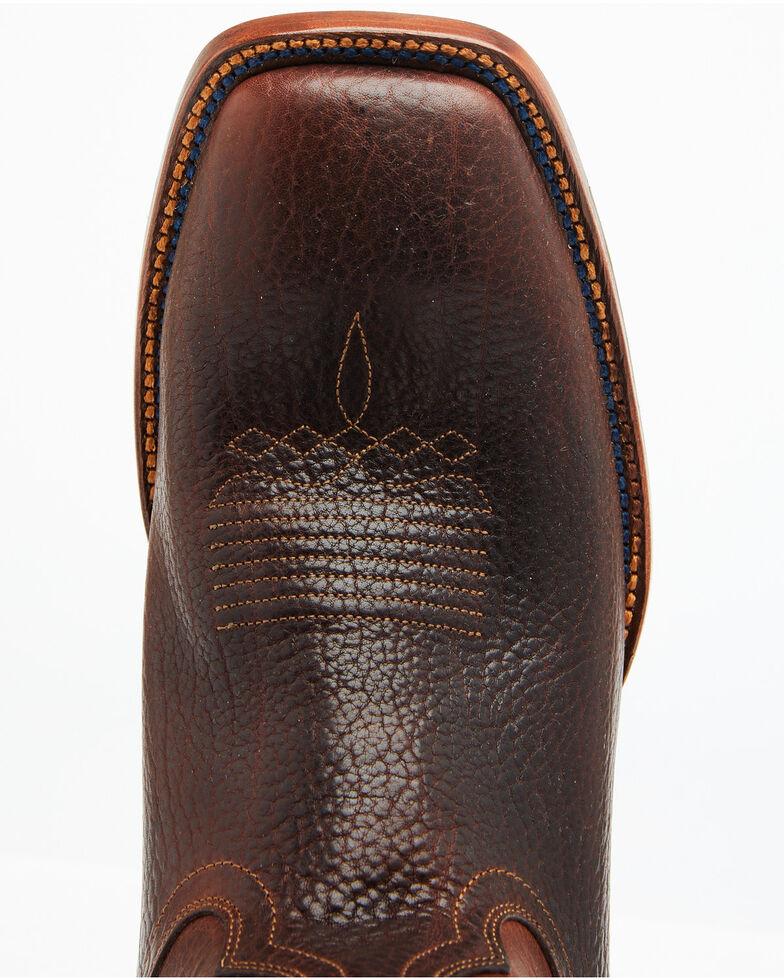 Cody James Men's Cognac Honey Western Boots - Wide Square Toe, Cognac, hi-res