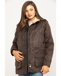 Outback Trading Women's Woodbury Jacket, Brown, hi-res