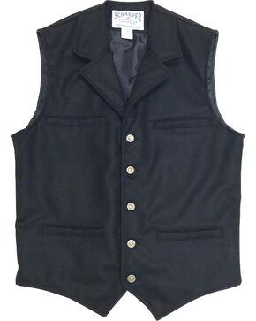 Schaefer Outfitter Men's 704 McCoy Wool Vest, Black, hi-res