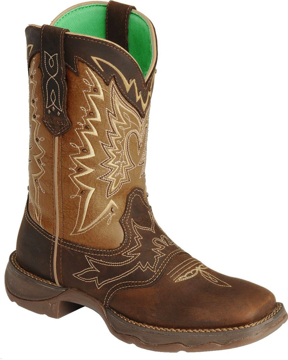 Durango Women's Let Love Fly Western Boots, Distressed, hi-res