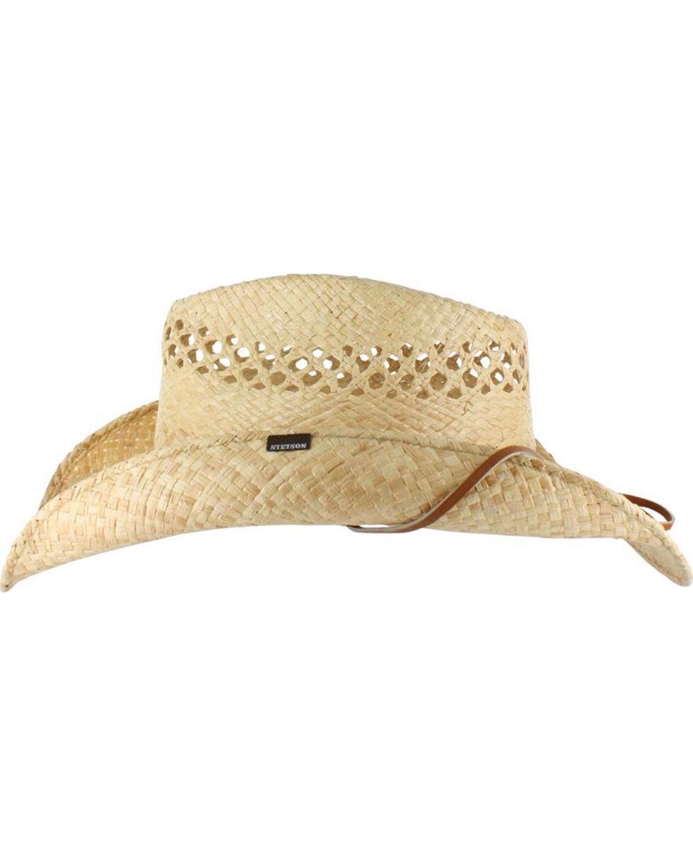 Stetson Bridger Straw Hat, Natural, hi-res