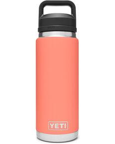 Yeti Rambler 26oz Coral Chug Bottle, Coral, hi-res