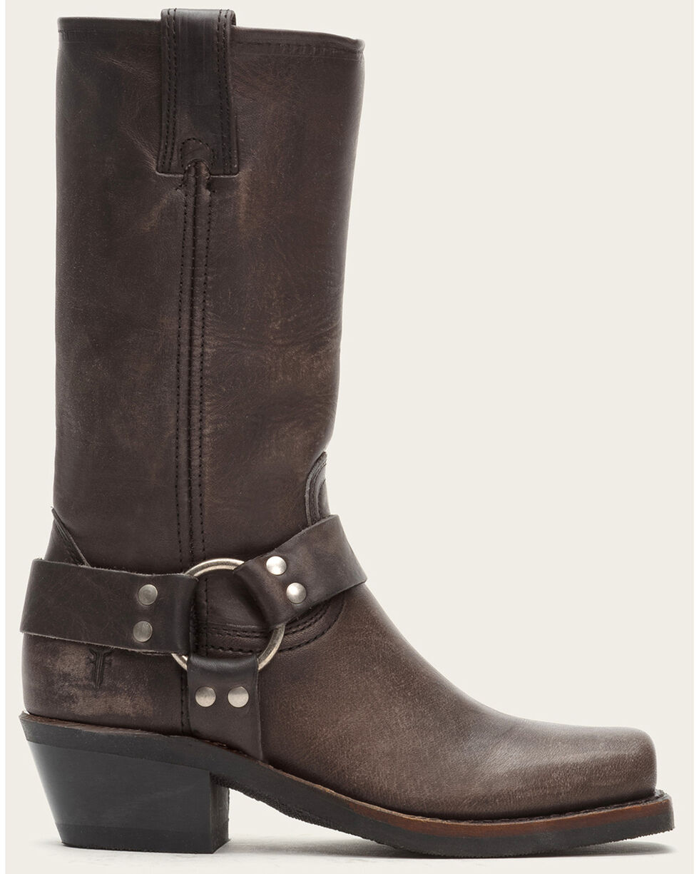 Frye Women's Ash Harness 12R Mid-Calf Boots - Square Toe , Ash, hi-res