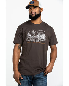 Moonshine Spirit Men's Drifter Graphic T-Shirt , Brown, hi-res