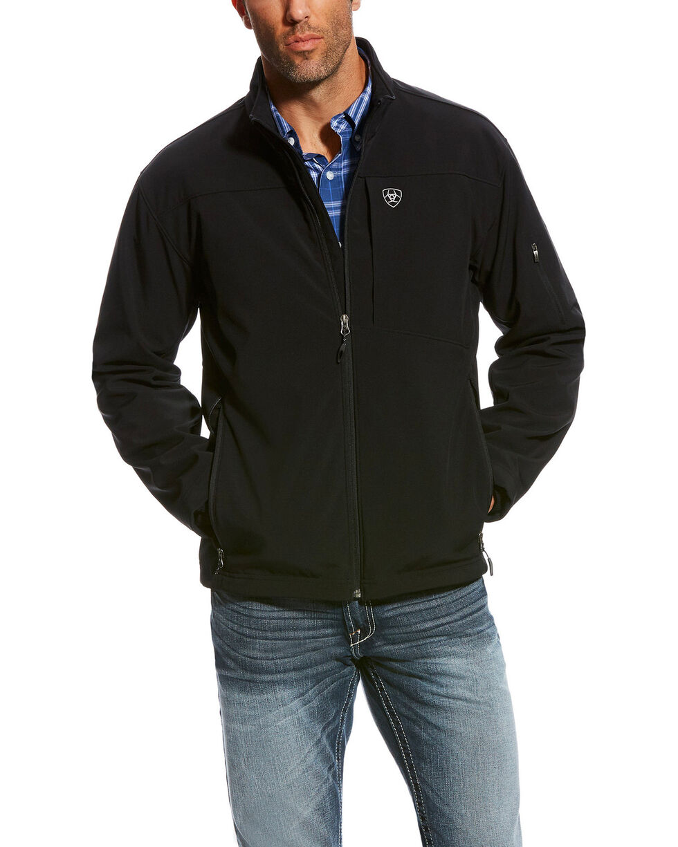 Ariat Men's Vernon 2.0 Softshell Jacket , Black, hi-res