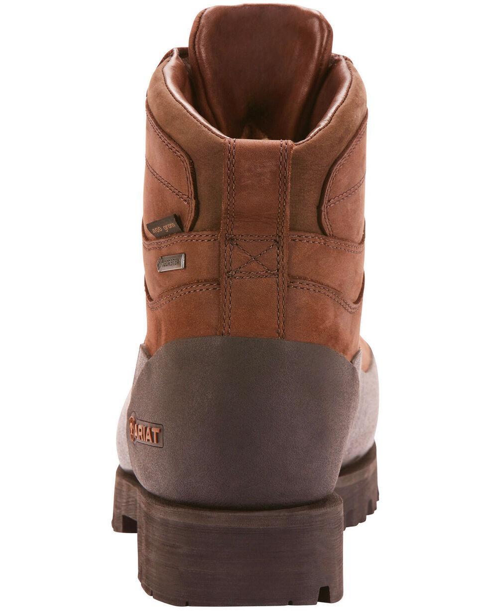 "Ariat Men's Linesman Ridge 6"" EH Insulated Work Boots - Round Composite Toe, Medium Brown, hi-res"