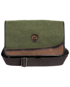 STS Ranchwear By Carroll Men's Canvas Messenger Bag, Olive, hi-res
