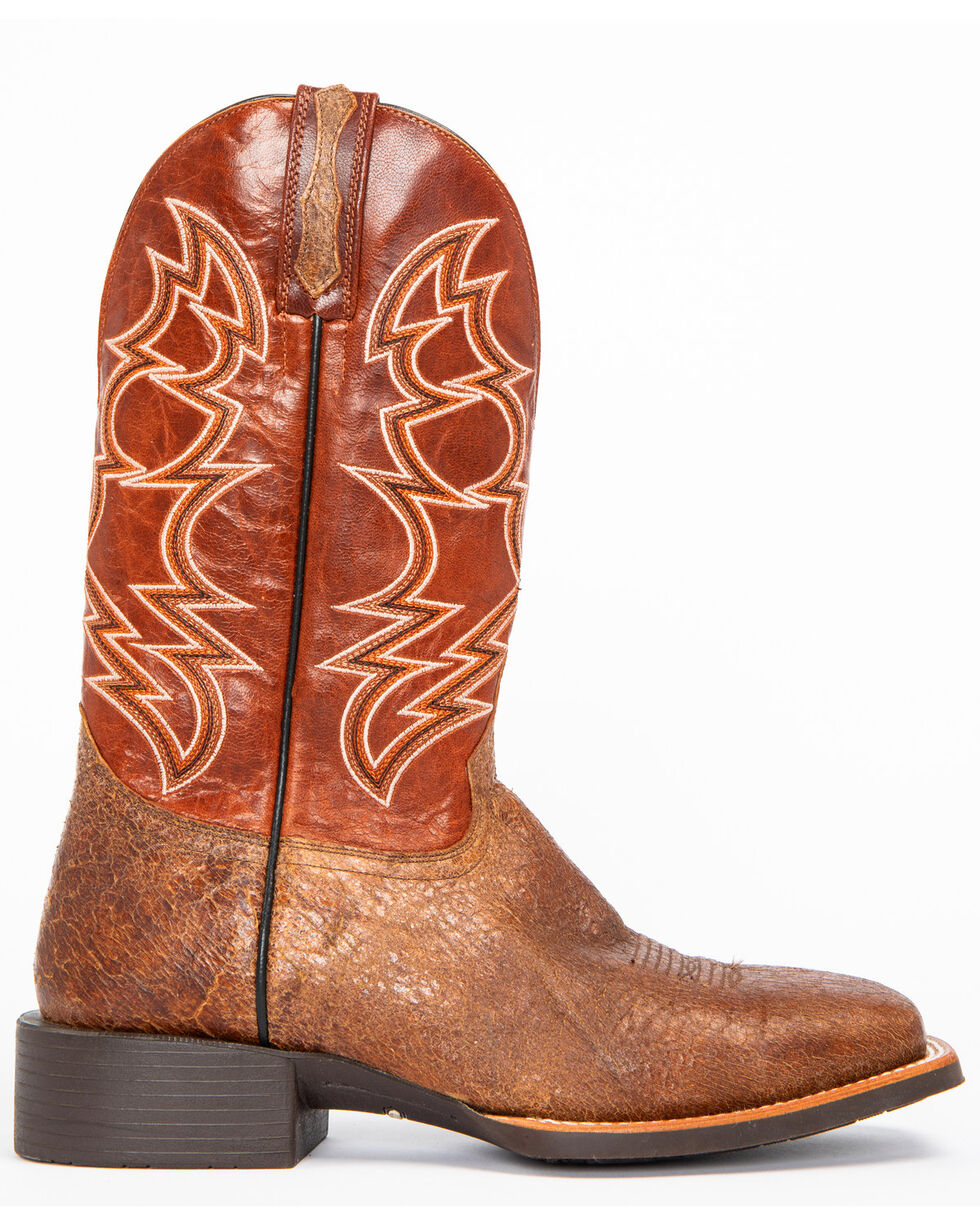 Cody James Men's Robertson Western Boots - Wide Square Toe, Brown, hi-res