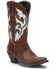 Matisse Women's Stampede Western Boots - Snip Toe, Brown, hi-res