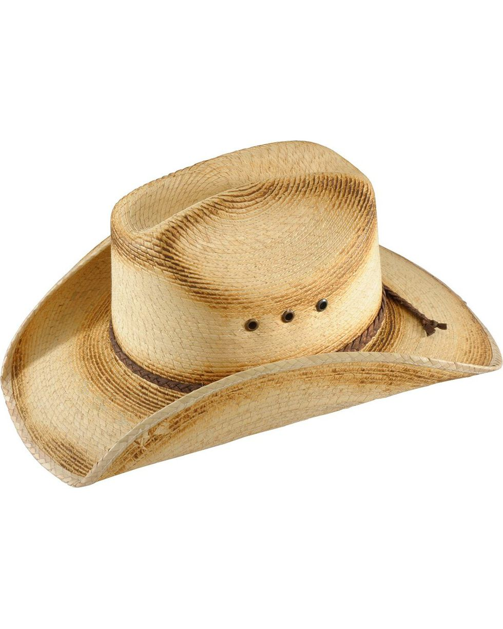 Bullhide Kids' Pony Express Straw Cowboy Hat, Natural, hi-res