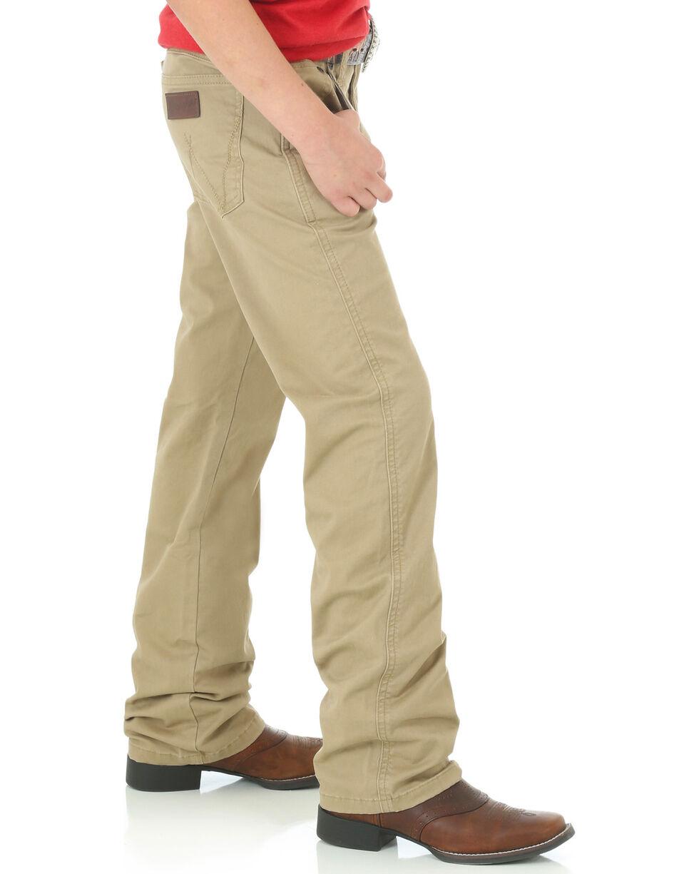 Wrangler Boys' (8-16) Tan Retro Slim Fit Jeans - Straight Leg, Tan, hi-res