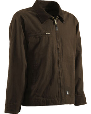 Berne Original Washed Gasoline Jacket - Tall 3XT and 4XT, Bark, hi-res