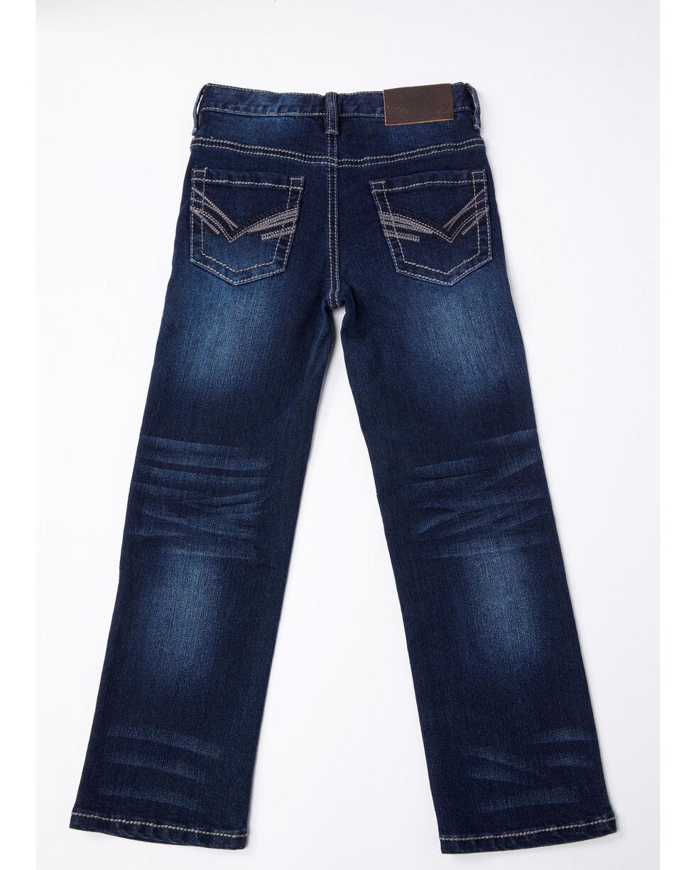Cody James Boys' Stretch Denim Slim Straight Jeans , Blue, hi-res