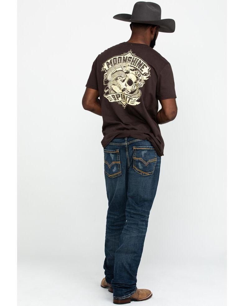 Moonshine Spirit Men's Harley Stretch Slim Straight Jeans , Blue, hi-res