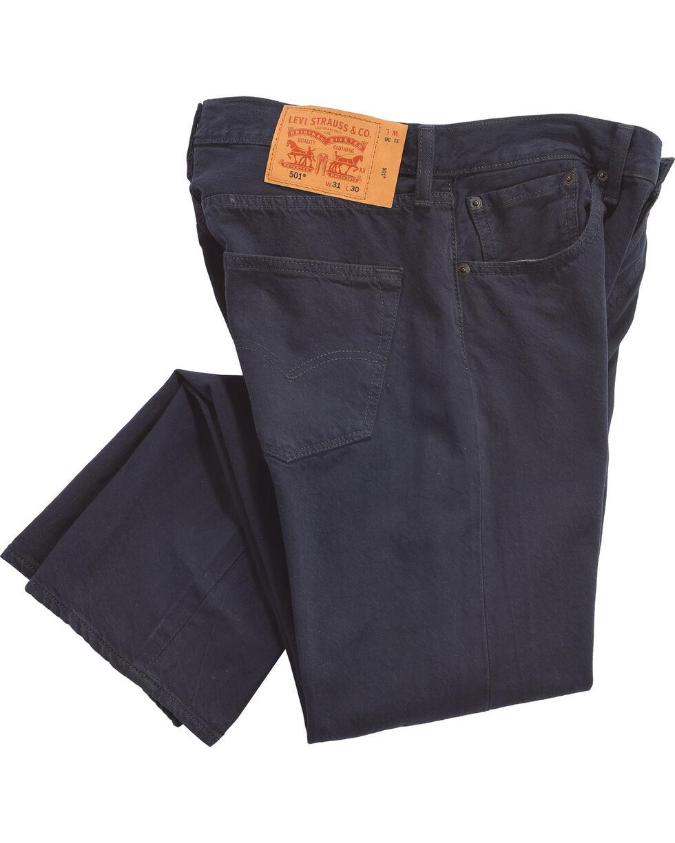 Levi's Men's Nightwatch Blue 501 Jeans - Straight Leg , Blue, hi-res