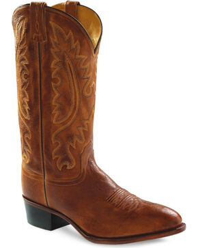 Jama Men's Western Boots, Tan, hi-res