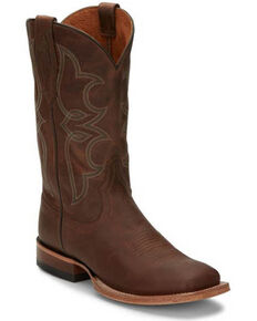 Tony Lama Women's Naomi Sandy Western Boots - Square Toe, Brown, hi-res
