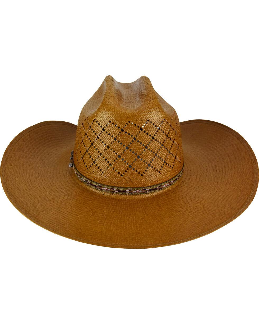Bailey Men's Ruger II 15X Straw Cowboy Hat, Brown, hi-res