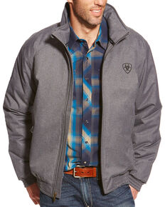 Ariat Men's Team Jacket, Grey, hi-res