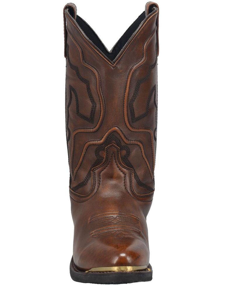 Laredo Men's Atlas Western Boots - Round Toe, Tan, hi-res