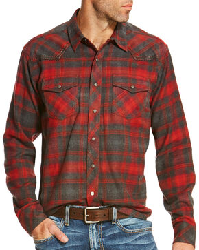 Ariat Men's Tahoe Retro Shirt, Ruby, hi-res