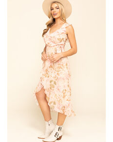 Show Me Your Mumu Women's Pink Granada Floral Dress, Pink, hi-res