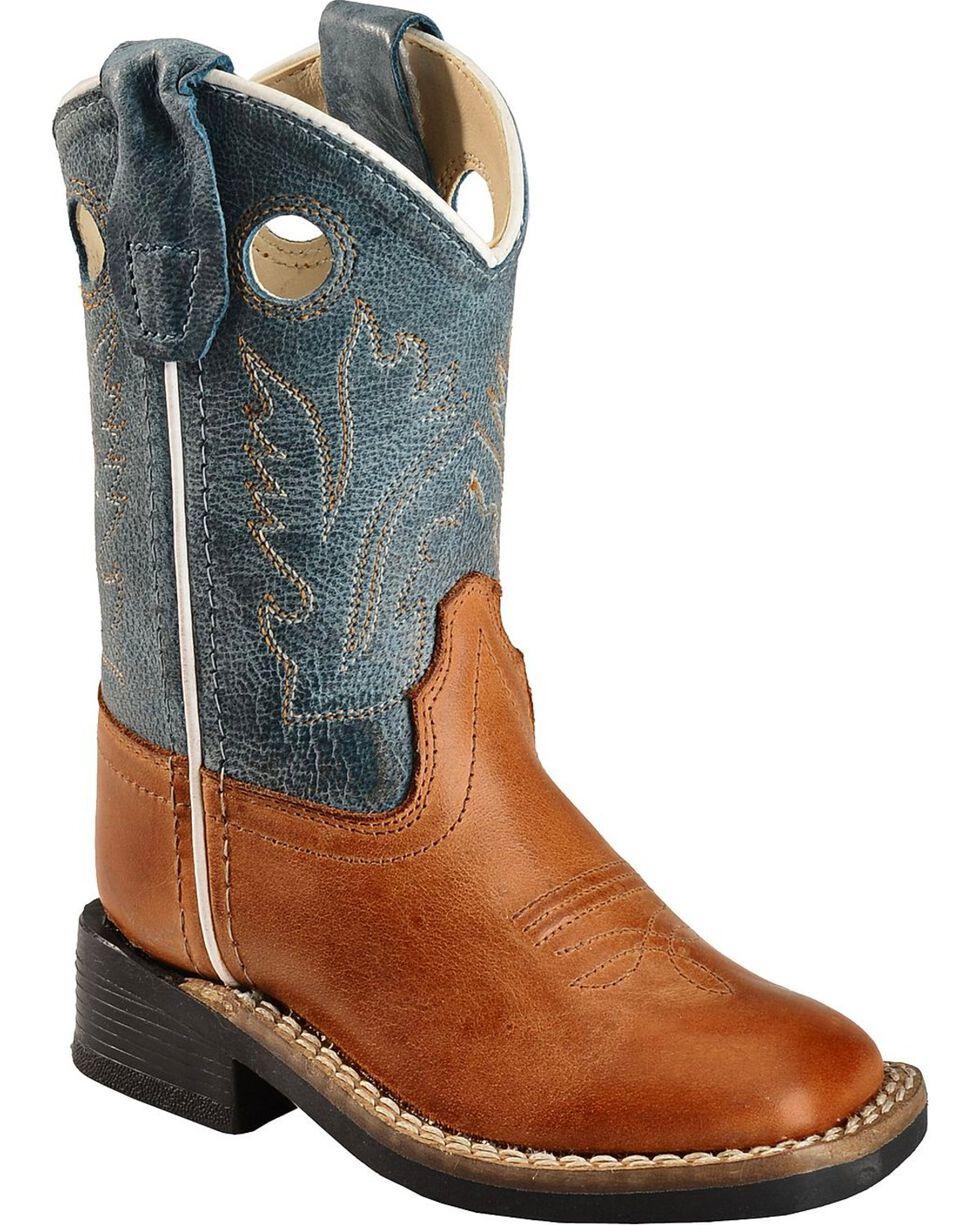 Jama Todder's Cushion Comfort Toe Western Boots, Barnwood, hi-res