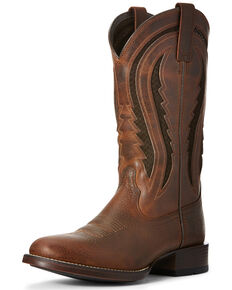 Ariat Men's Butte VentTEK Western Boots - Round Toe, Rust Copper, hi-res