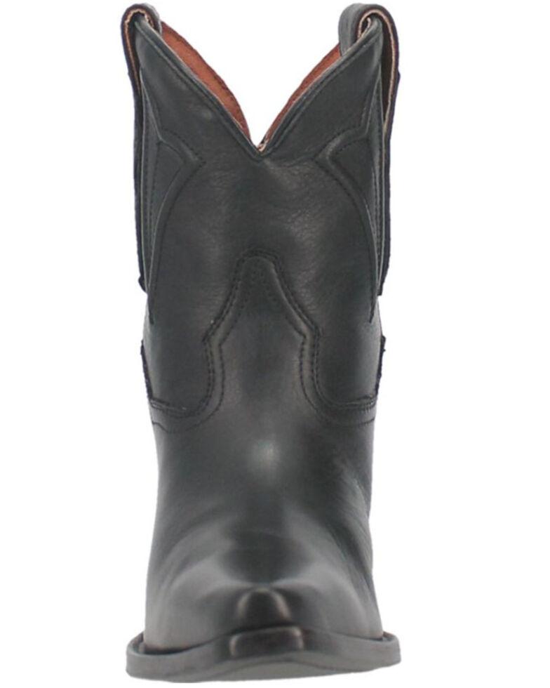 Dan Post Women's Black Myla Western Booties - Snip Toe, Black, hi-res