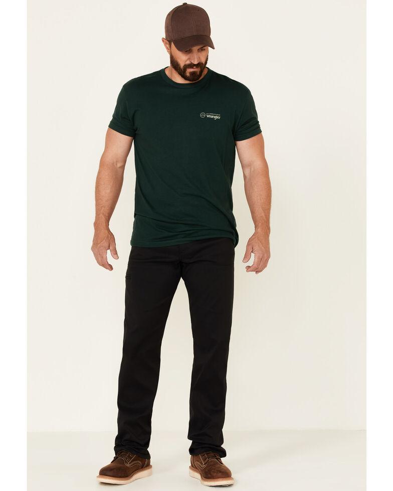 ATG By Wrangler Men's Caviar Synthetic Stretch Utility Pants , Black, hi-res