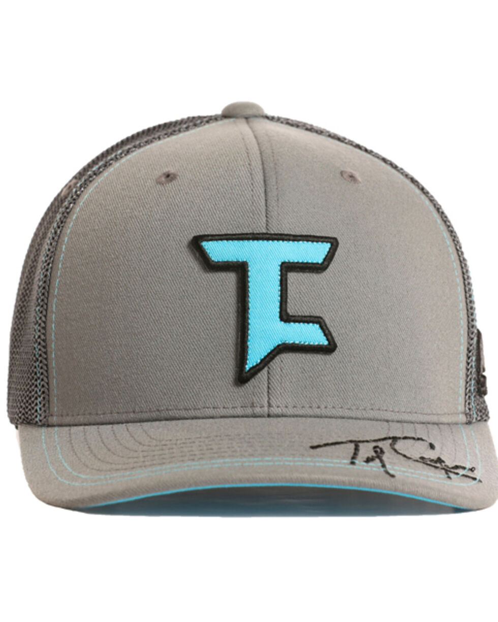 Tuf Cooper Men's Signature Trucker Hat, Charcoal, hi-res