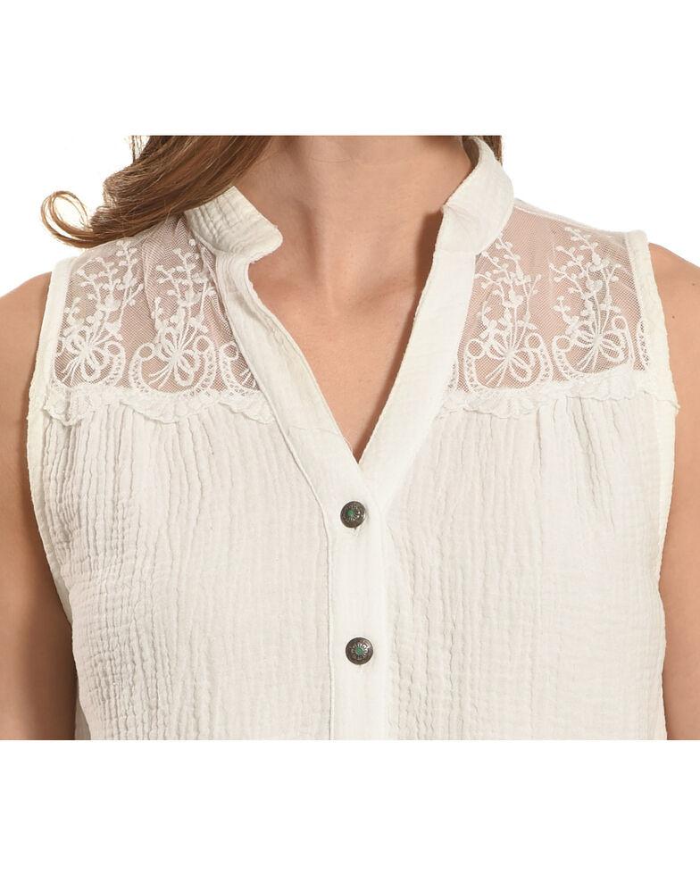 Tasha Polizzi Women's White El Fenix Top , White, hi-res