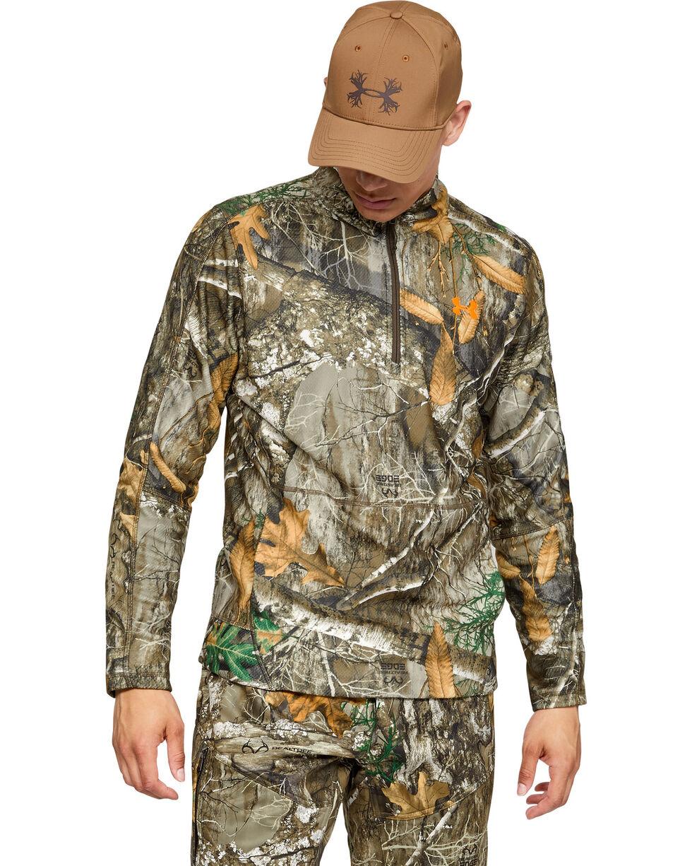 Under Armour Men's Camo Off Grip 1/4 Zip Pullover , Camouflage, hi-res