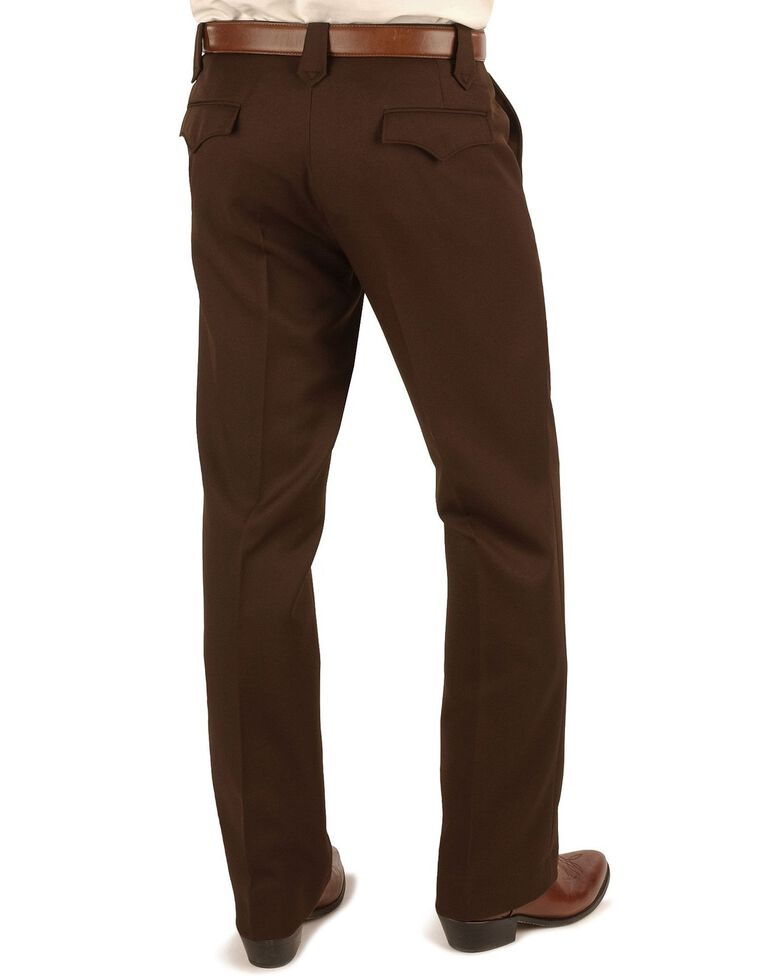 Circle S Men's Lubbock Xpand Pants, Chocolate, hi-res