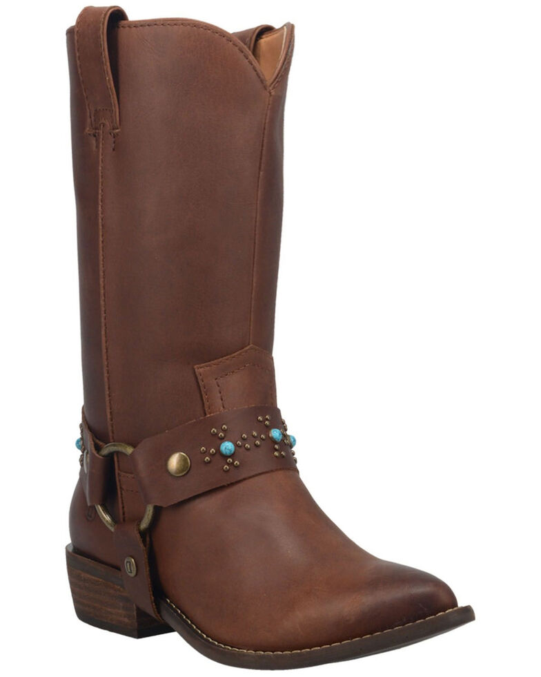 Dingo Women's Appaloosa Western Boots - Medium Toe, Brown, hi-res