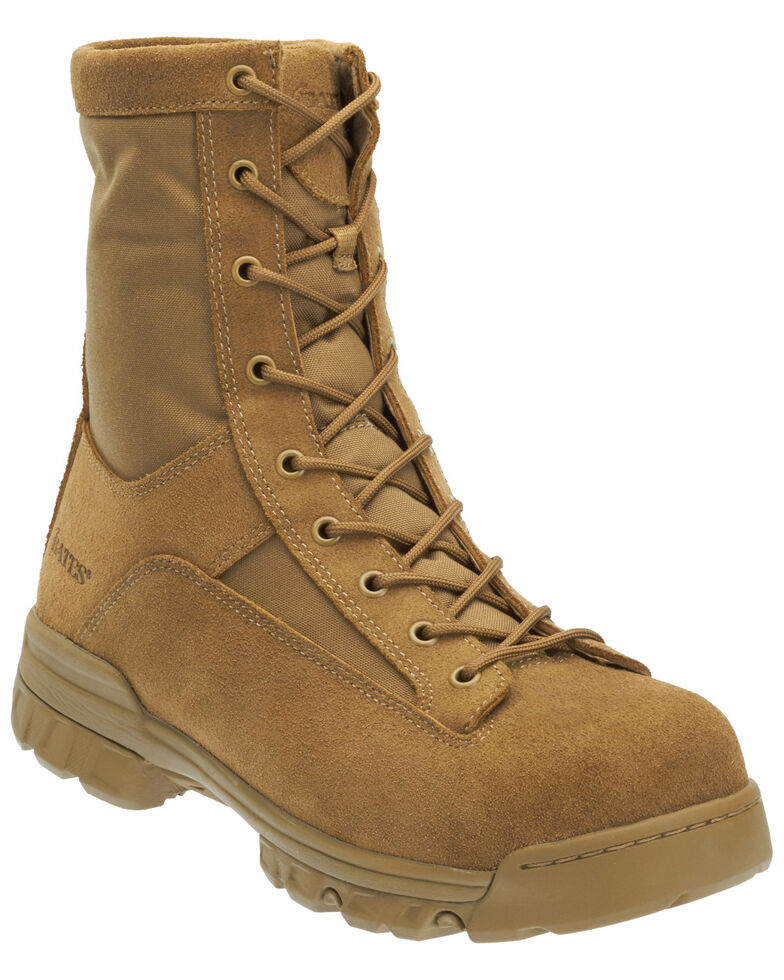 Bates Men's Ranger II Hot Weather Tactical Boots - Composite Toe, Tan, hi-res