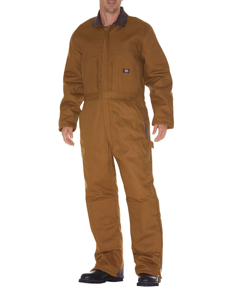 Dickies Insulated Coveralls, Brown Duck, hi-res
