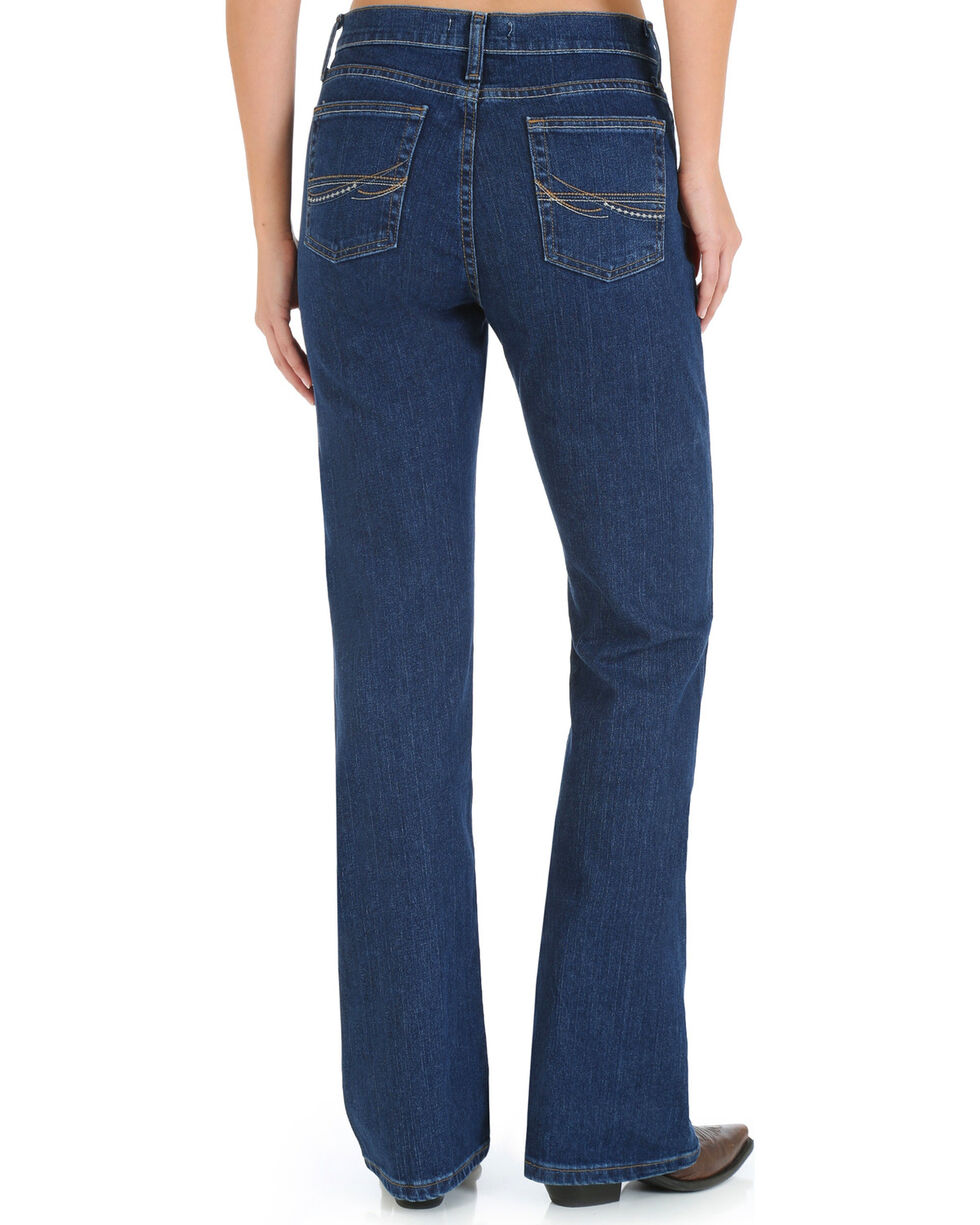 As Real As Wrangler Women's Classic Fit Boot Cut Jeans, Denim, hi-res