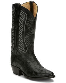 Tony Lama Men's Black McCandles Western Boots - Round Toe, Black, hi-res
