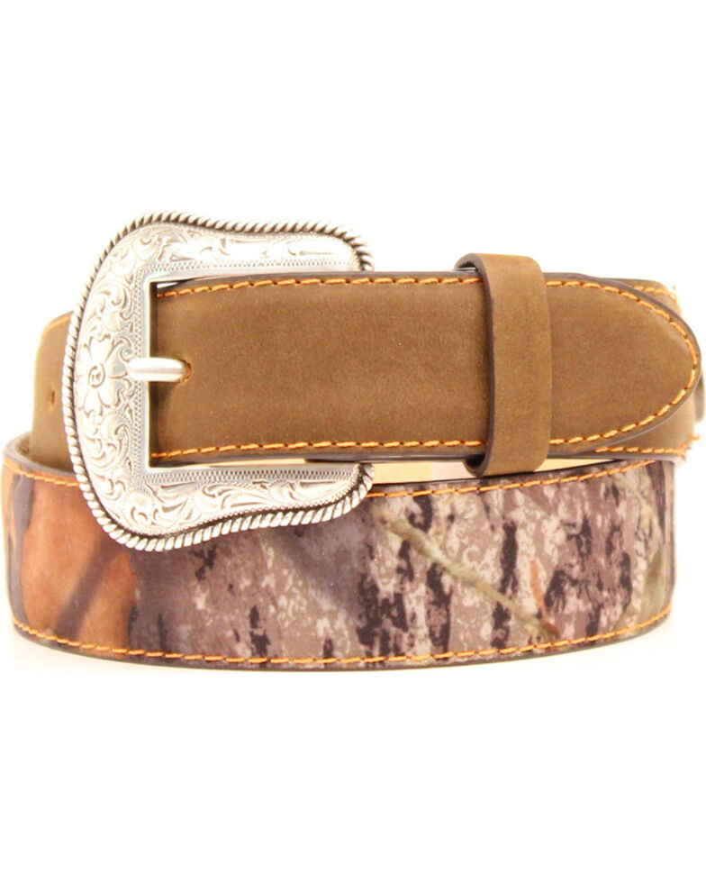 Double Barrel Camo Shotgun Shell Belt, Mossy Oak, hi-res