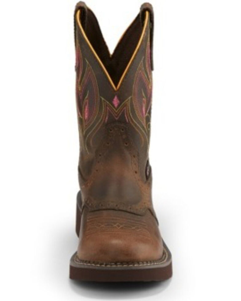Justin Women's Gemma Shetland Western Boots - Round Toe, , hi-res