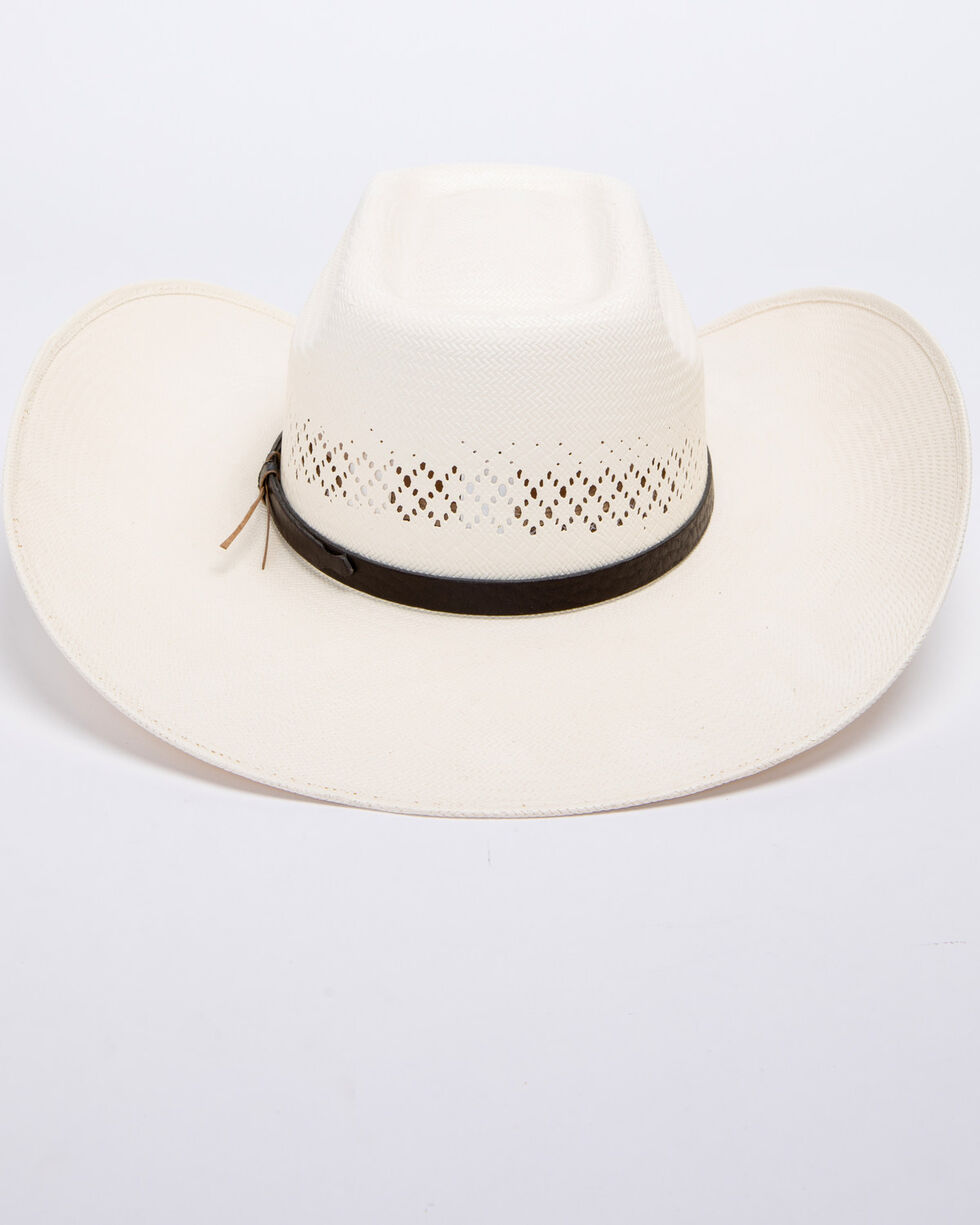 Bullhide Women's Silver City 100X Straw Hat, Natural, hi-res