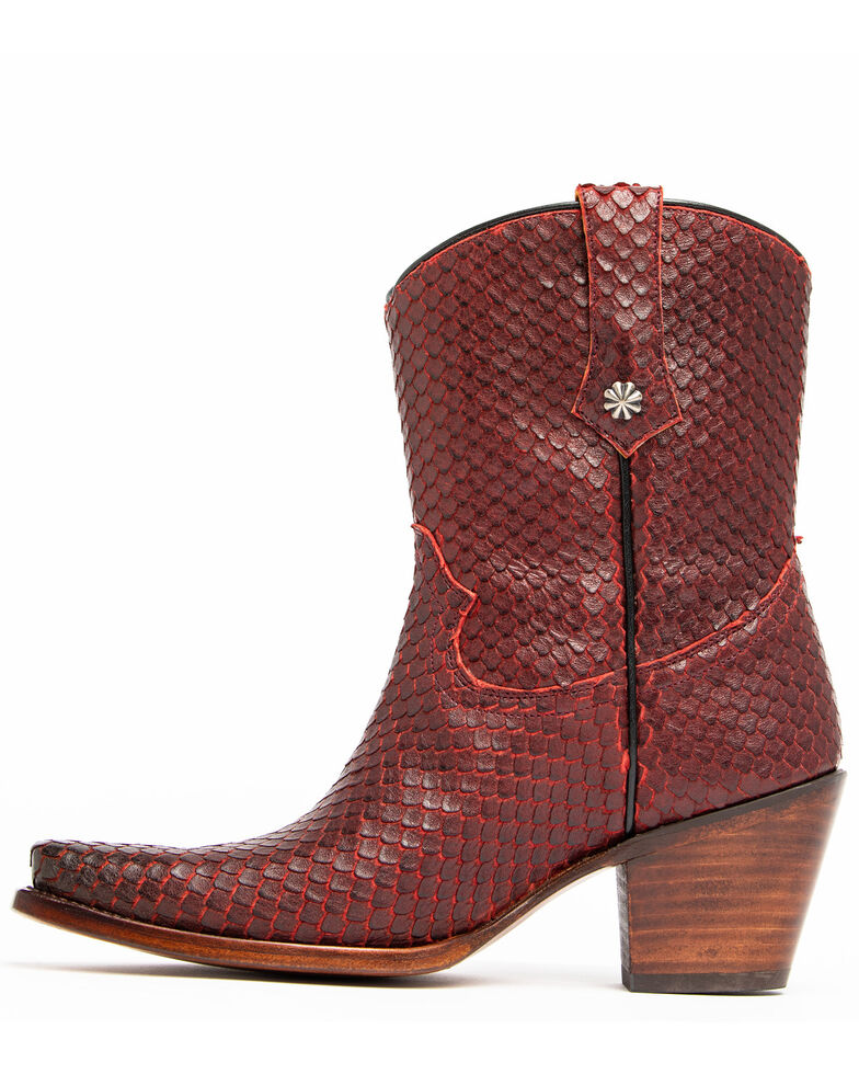 Idyllwind Women's Fire Igniter Western Boots - Snip Toe, Red, hi-res